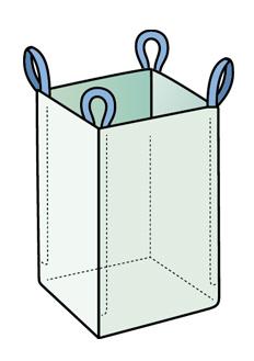 Четырехстропный сшивной контейнер Биг-Бэг