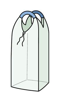 Двухпетлевой мягкий контейнер Биг-Бэг